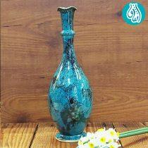 گلدان سفالی لعاب دار کد 3
