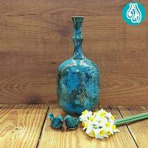 گلدان سفالی لعاب دار کد 4