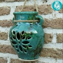 گلدان دیواری مشبک سفال