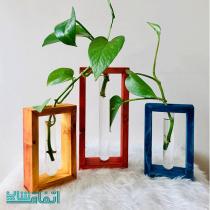 گلدان مگنتی چوبی